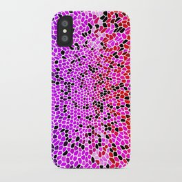 THINK LILAC CORAL iPhone Case
