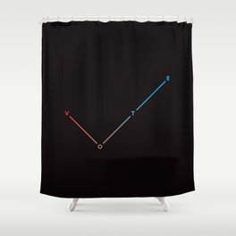 VOTE (Limited Edition) Shower Curtain