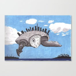 Cloud turtle Canvas Print