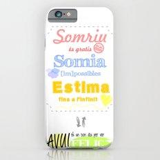 {CAT} SOMRIU · SOMIA · ESTIMA Slim Case iPhone 6s