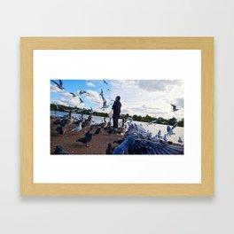Birdman II Framed Art Print