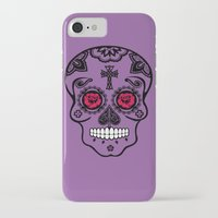 calavera iPhone & iPod Cases featuring Calavera by SuperEdu