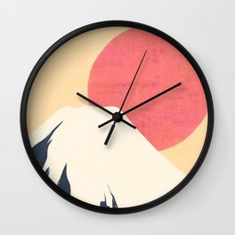 Dreams of Fuji Wall Clock