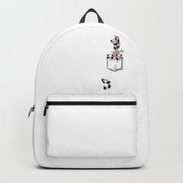 Cute Pocket Pandas Backpack
