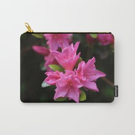 Pink Azelaea Spring Flowers Pretty Flowers Blossoms Nature Flora Carry-All Pouch
