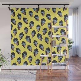 Gorilla Pattern Wall Mural