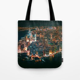 City of Lights New York City (Color) Tote Bag