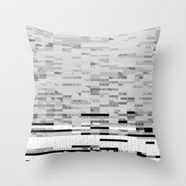 50 Shades of Pixel Throw Pillow