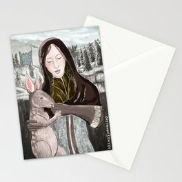 Leliana and Nug Stationery Cards