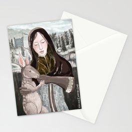 Leliana and Nug Stationery Cards