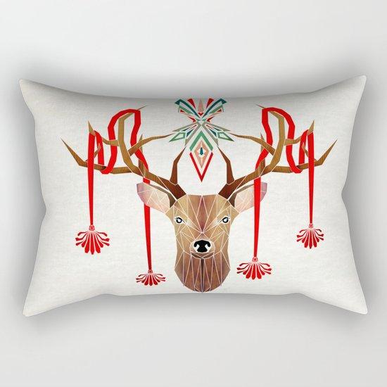 deer rope  Rectangular Pillow