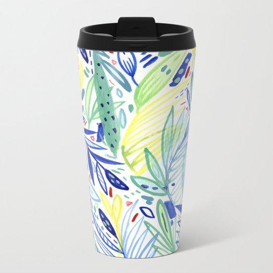 Pattern 17 Metal Travel Mug