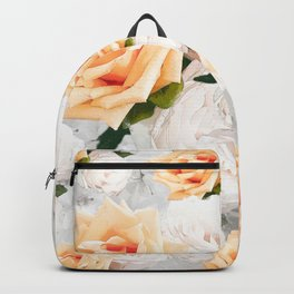 YELLOW ROSES WHITE ROSES Backpack