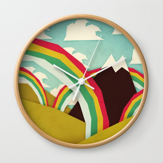 Happy happy joy joy! Wall Clock
