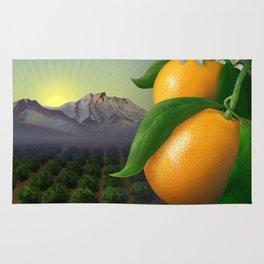 Satsuma Mandarins Rug