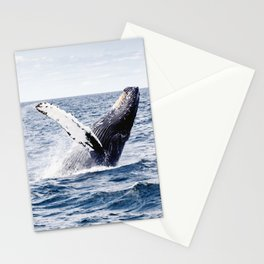 Humpback Whale Ocean Stationery Cards