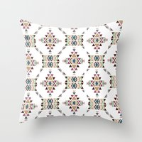 navajo Throw Pillows featuring Navajo  by CrystalFairy
