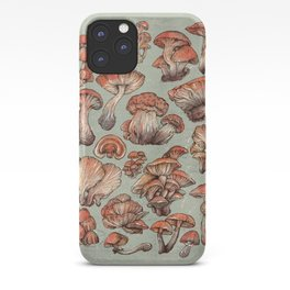 A Series of Mushrooms iPhone Case