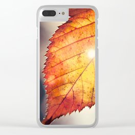 sunshine in autumn Clear iPhone Case
