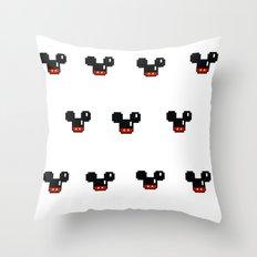 8 Bit Mouses  Throw Pillow