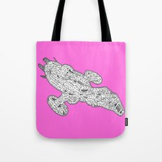 PINK Fire Fly Tote Bag