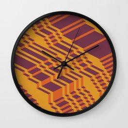 Zag Wall Clock