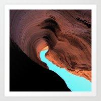 wave Art Prints featuring Wave by C Z A V E L L E