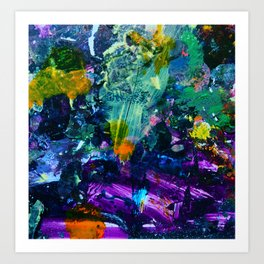 Planet S3 Art Print