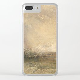 Turner's perfect Storm Clear iPhone Case