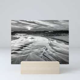 Into the Atlantic Ocean Mini Art Print