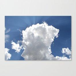Sun and Rays over Moroni #4 Canvas Print