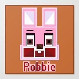 Block Robbie Canvas Print