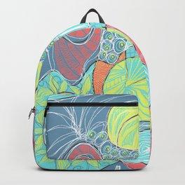 Retro Doodle design Backpack