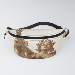 Golden Lady Fanny Pack