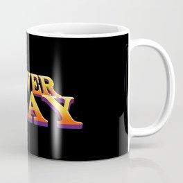 PowerPlay Textlogo Coffee Mug