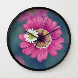 The Daisy Sitter Wall Clock