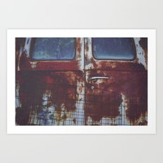 Rear View Art Print
