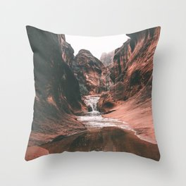 Utah III Throw Pillow