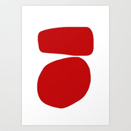Red 005 Art Print