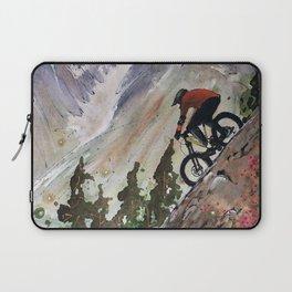 Downhill Biker Laptop Sleeve