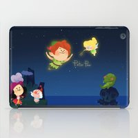 peter pan iPad Cases featuring Peter Pan by UniverseSunny