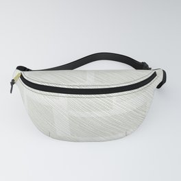 Green and striped blocks Fanny Pack