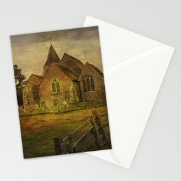 St Clement's Old Romney From The East Stationery Cards