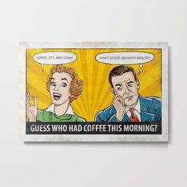 Morning Joy Metal Print
