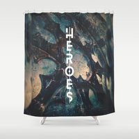 heroes Shower Curtains featuring Heroes by bica Studio