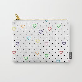Candy Heart Spots Carry-All Pouch