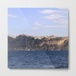 Santorini, Greece 17 Metal Print