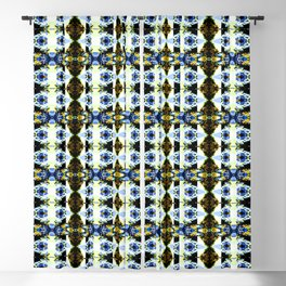 Abstract Kaleidoscope Funky Seamless Pattern Blackout Curtain