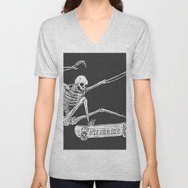 Cool Skeleton Unisex V-Neck