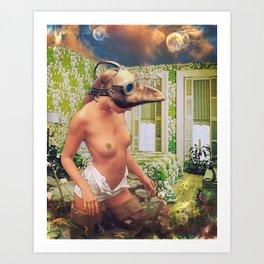 A dream within a dream Art Print